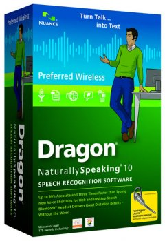 Dragon® NaturallySpeaking® 10 Preferred Wireless